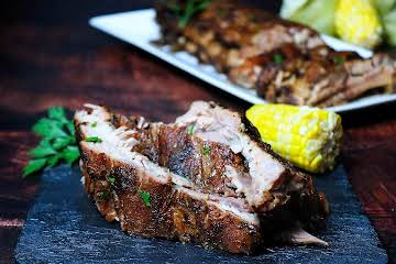 BBQ Oven Pork Ribs