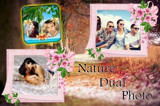 Nature Dual Photo Frame