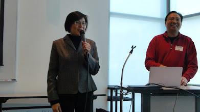 Photo: Dr. Minh Hoa Ta and John Ho