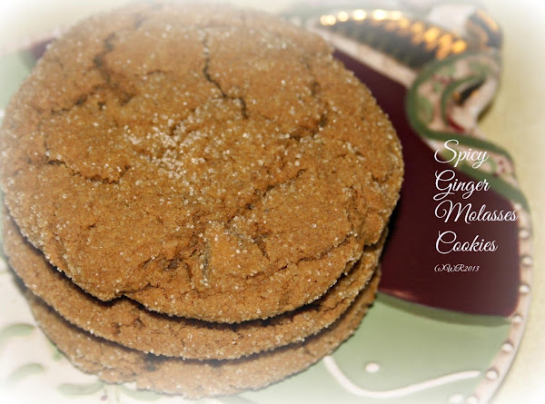 Spicy Ginger Molasses Cookies Recipe