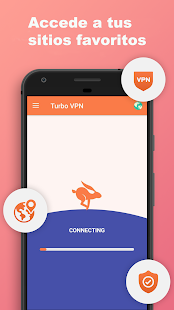 Turbo VPN - VPN Gratuito y Servidor Proxy Libre Screenshot