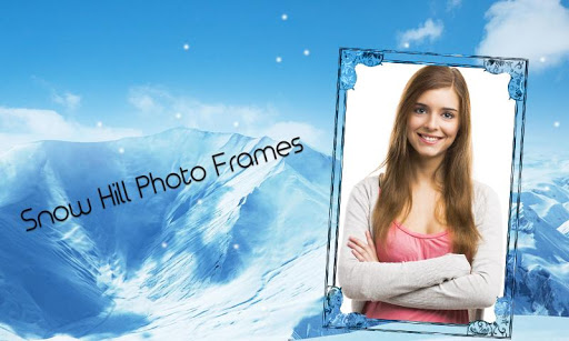 Snow Hills Photo Frames