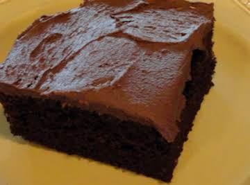 Dragonfly Dark Chocolate Cake