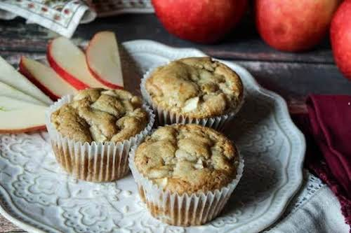 """Sinful Apple Muffins""""This is my all-time favorite muffin recipe. I got it..."""