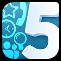 Quintet. Speed dial widget icon