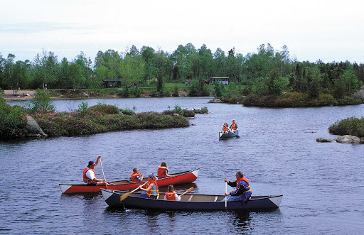 Go canoeing as morning breaks for some of the prettiest views along the riverbanks of Saint John, New Brunswick.