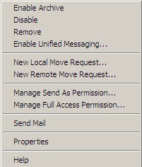 Manage Full Access Permissions in Exchange 2010