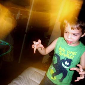 Explaining a Dream by Brianna Cox - Babies & Children Children Candids ( child, monster, dream, young, kid )