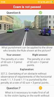 App Traffic rules of Azerbaijan (exam emulator) APK for Windows Phone