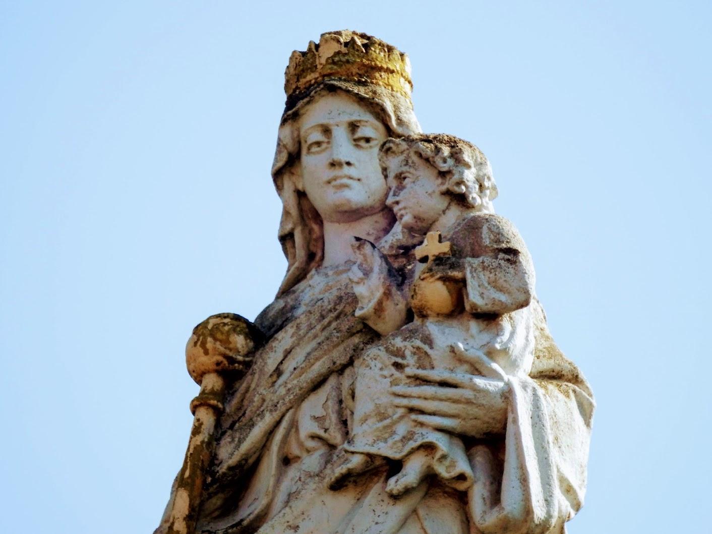 Bő - Magyarok Nagyasszonya-szobor
