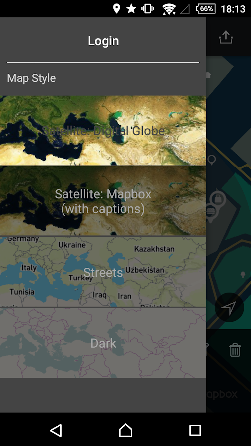 geoMapTool- screenshot