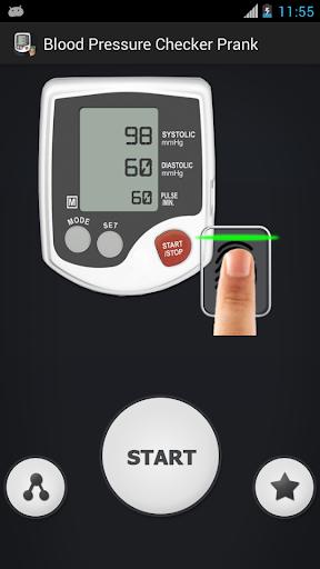 血圧チェッカーいたずら