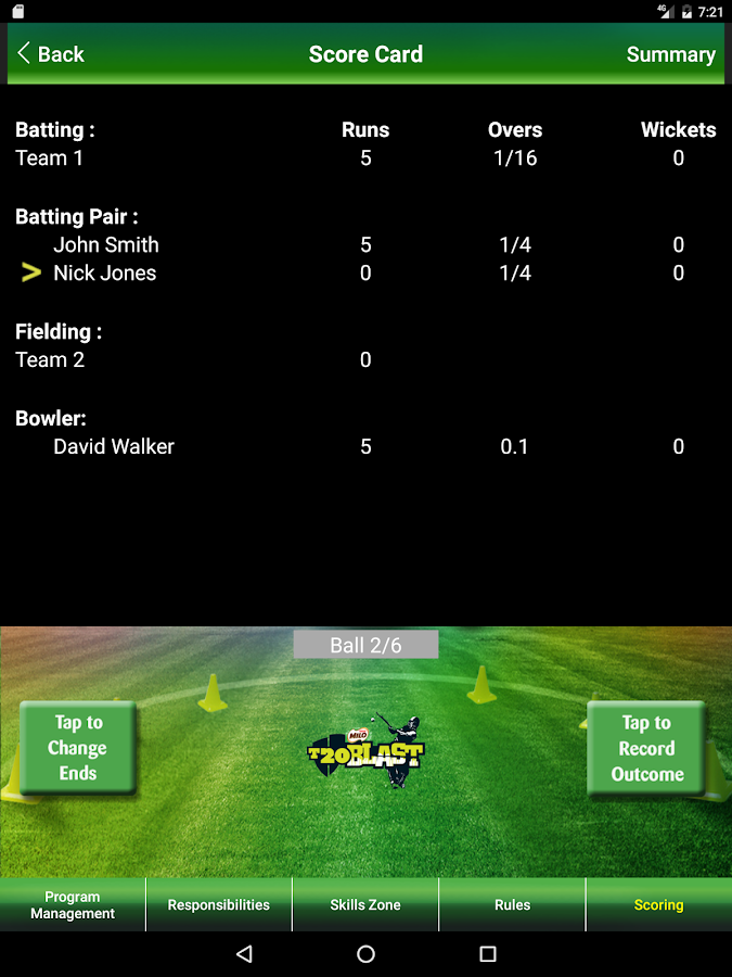 MILO T20Blast- screenshot