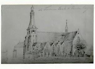 Photo: 1837 Potloodtekening  St. Martinuskerk