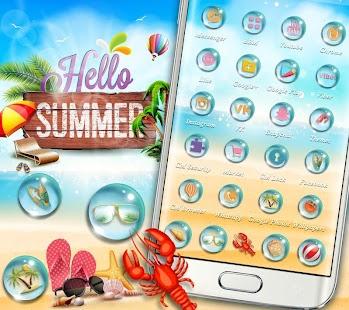 Summer Seaside Theme - náhled