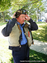 Photo: Royal Airforce pilot: Mike Blazejack, Sandwich, Ill.