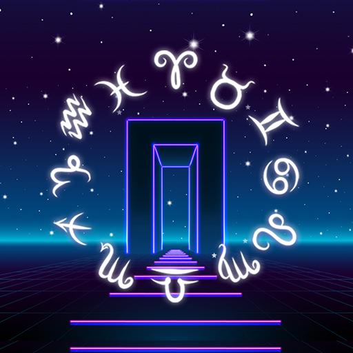 Neon Gate Horoscope Theme