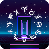 Neon Gate Horoscope Theme