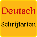 Deutsch Fonts für FlipFont icon