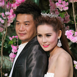 Married Couple #1 by Koh Chip Whye - Wedding Bride & Groom