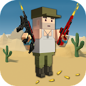 Blocky Pixel Paintball : Online Multiplayer