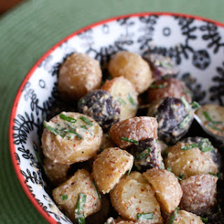 Mustard and Chive Potato Salad