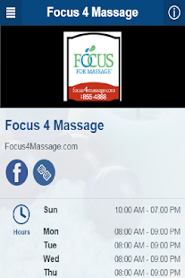 Focus 4 Massage- screenshot thumbnail