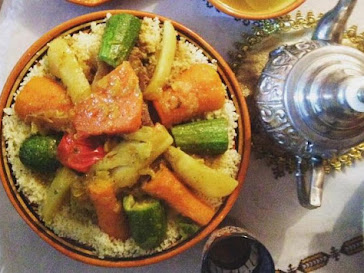 Authentic Moroccan Home-Cooking: Private Cooking Class with