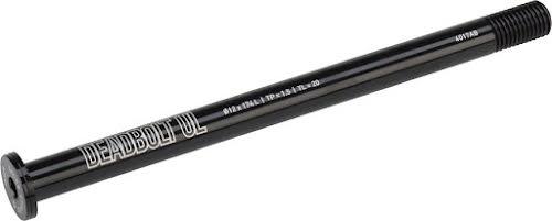 Salsa Deadbolt Ultralight Thru-Axle, Rear, 12mm Axle Diameter, 174mm Length, 1.5 Thread Pitch, 20mm
