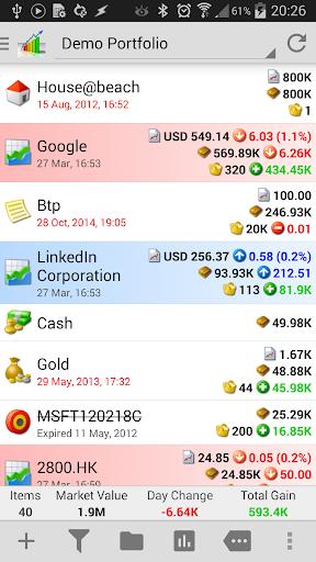 InvestControl - Portfolio Mgr.