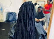 Indalo Nubian Naturals salon specialises in natural hair care. The owner of the salon had to close one of the two branches as income dried up.