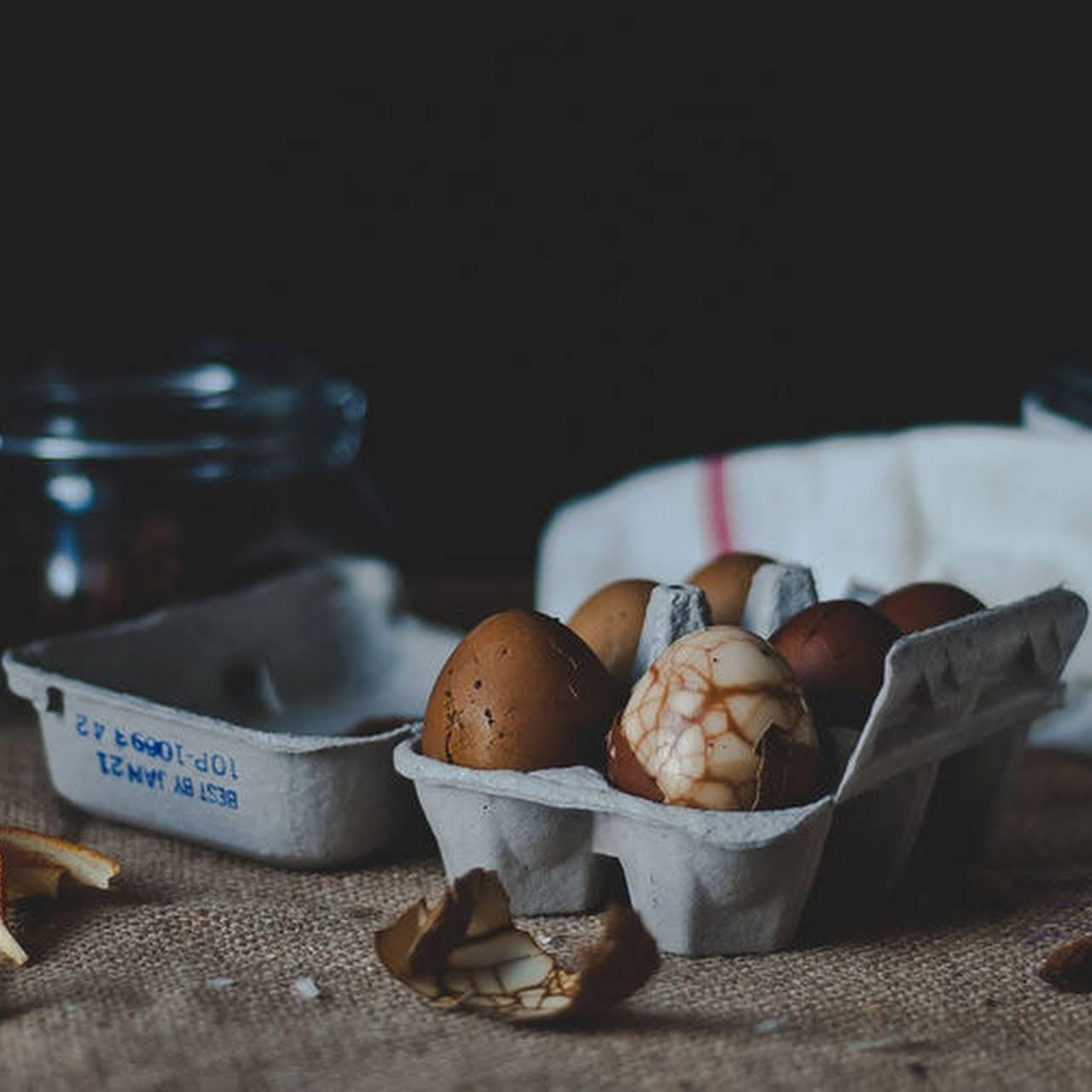 Street-Style Chinese Tea Eggs