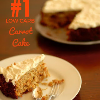 Low Carb Carrot Cake.