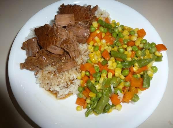 Slow Cooker Dr Pepper Roast Beef