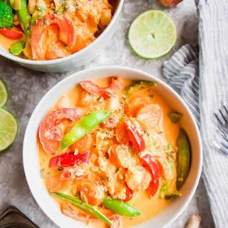 Paleo Thai Red Coconut Curry (GF).