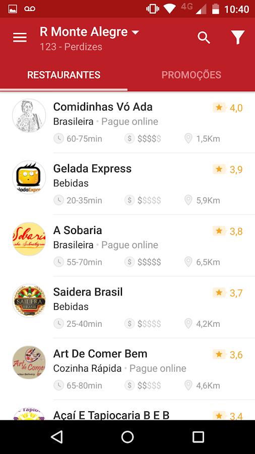 iFood - Delivery de Comida- screenshot
