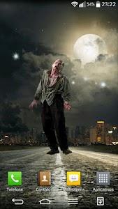 Zombie on the screen screenshot 2