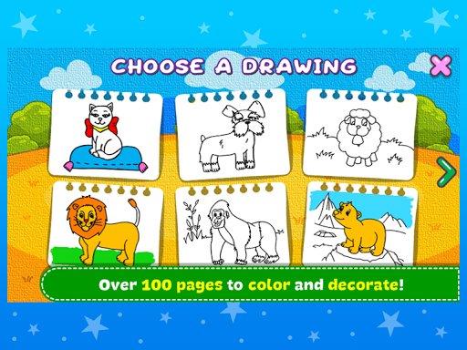 Coloring & Learn Animals - Kids Games screenshots 10