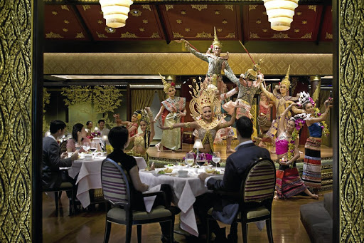 Traditional Thai food is served at Sala Rim Naam. Picture: SUPPLIED