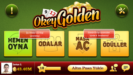 Okey Golden android2mod screenshots 3