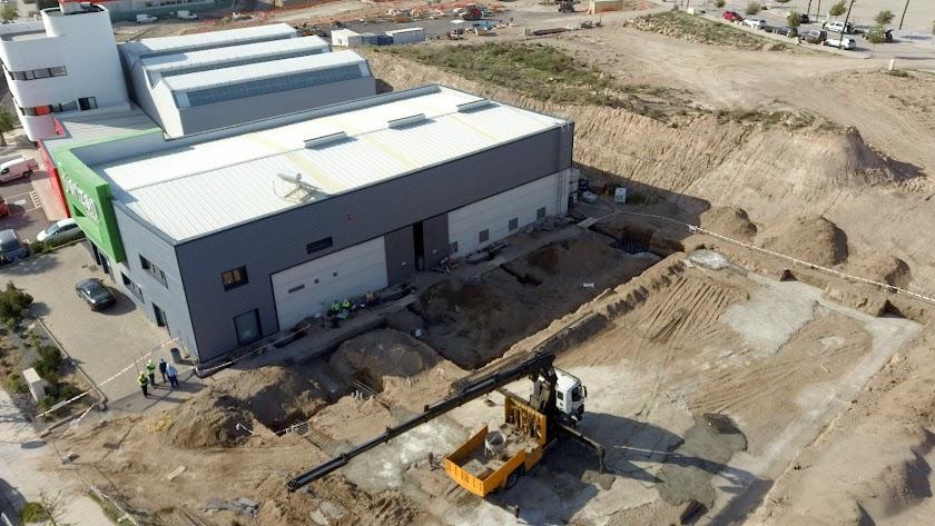 Obras de ampliación de instalaciones de Biorizon Biotech en el PITA