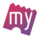 BookMyShow–Movie Tickets,Plays icon