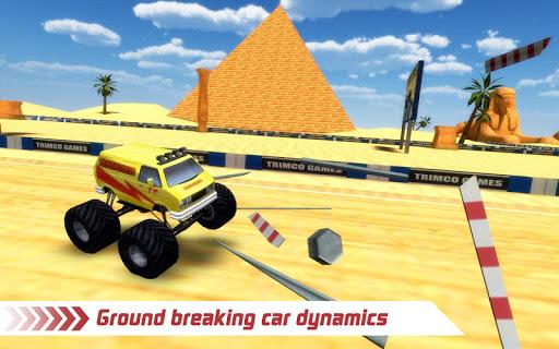 無料模拟Appのモンスタートラック4x4のスタントレース 記事Game