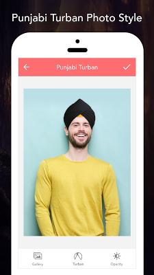 Punjabi Turbans Photo Editor - screenshot