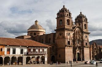 Photo: In the Cusco Plaza de Armas