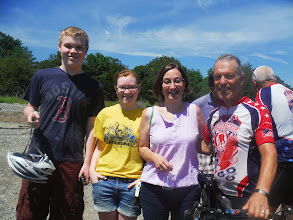 Photo: 20130812 Day 55 Manchester NH to Portsmouth NH  Matt, Sarah, Julie and Ed
