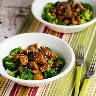 Slow Cooker Asian Chicken Broccoli Bowls.