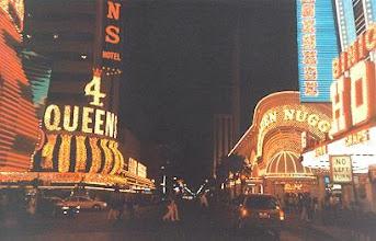 Photo: Downtown Reno at night