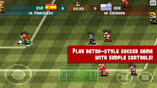 Pixel Cup Soccer  screenshots 1