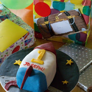 Birthday Fruit Cake